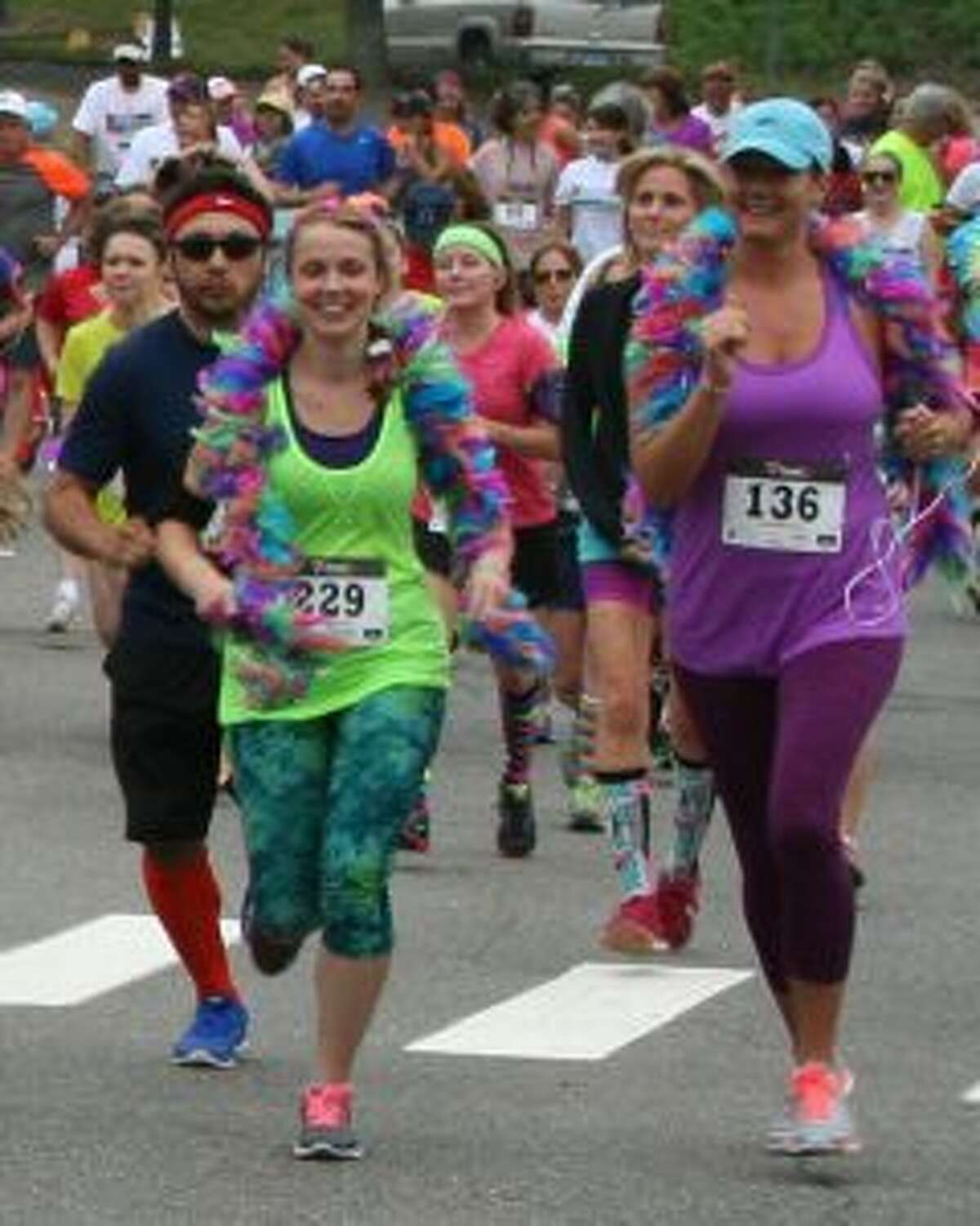 The 5K Run/Walk and Mile Stroll includes two designated routes: 5K Timed Race and 1 Mile Walk/Stroll,