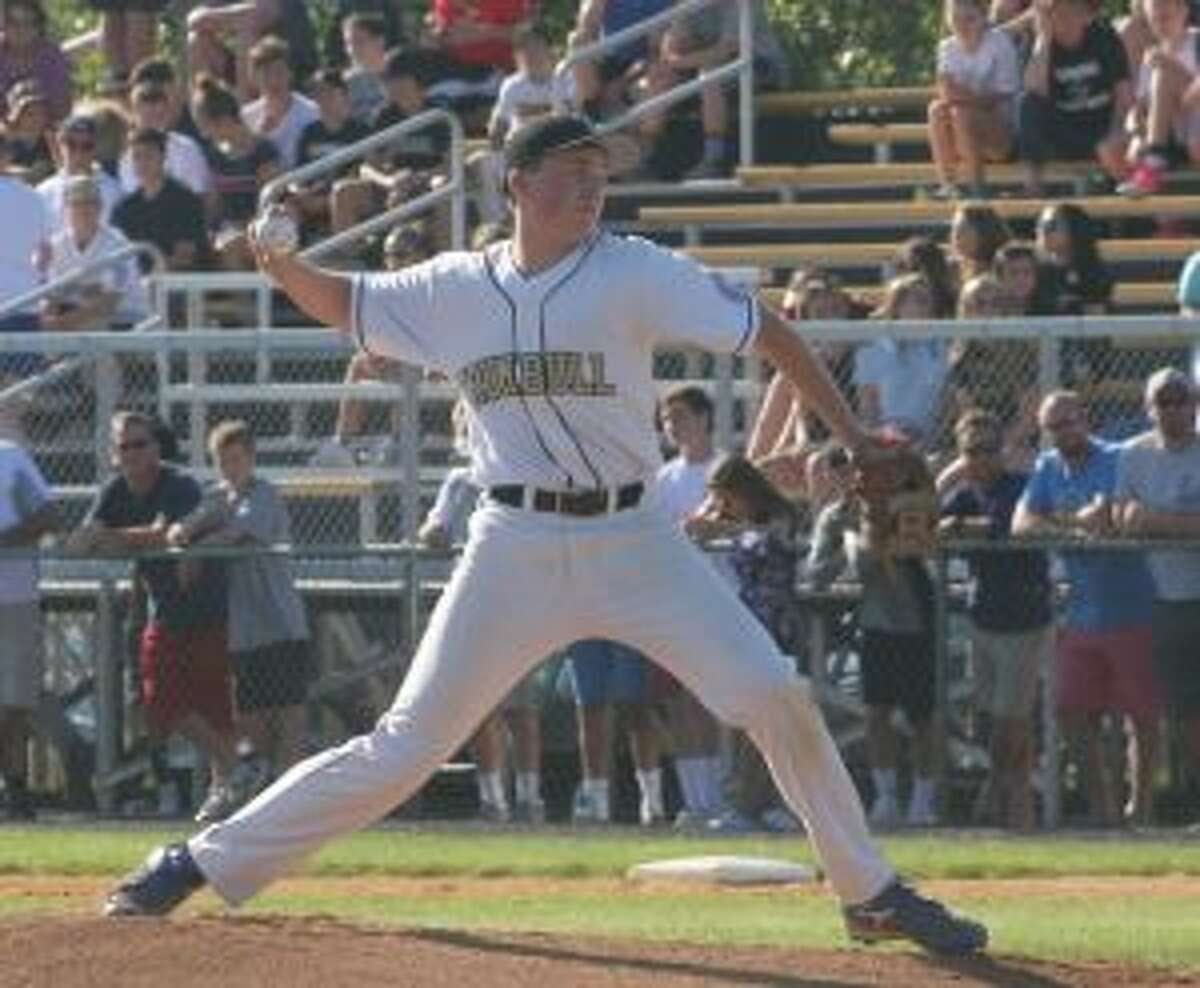 Sam West left the bases loaded in the seventh inning to complete his winning performance.