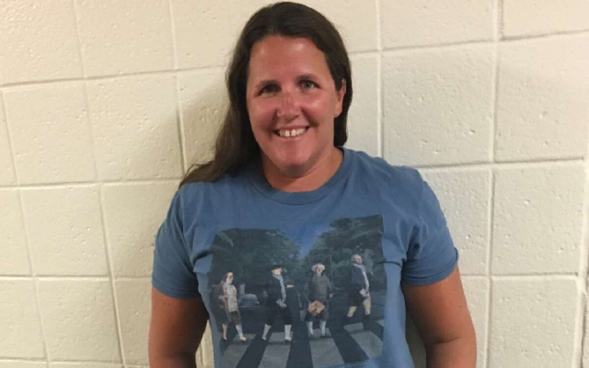 Trumbull High's Katie Boland is Connecticut's 2017 History Teacher of the Year.