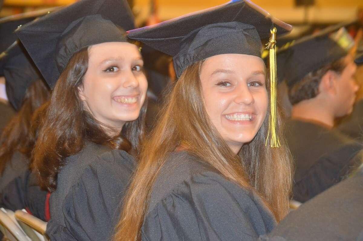 Ariana Maria Rojas & Katelynn Romanchick THS 2017 Graduation