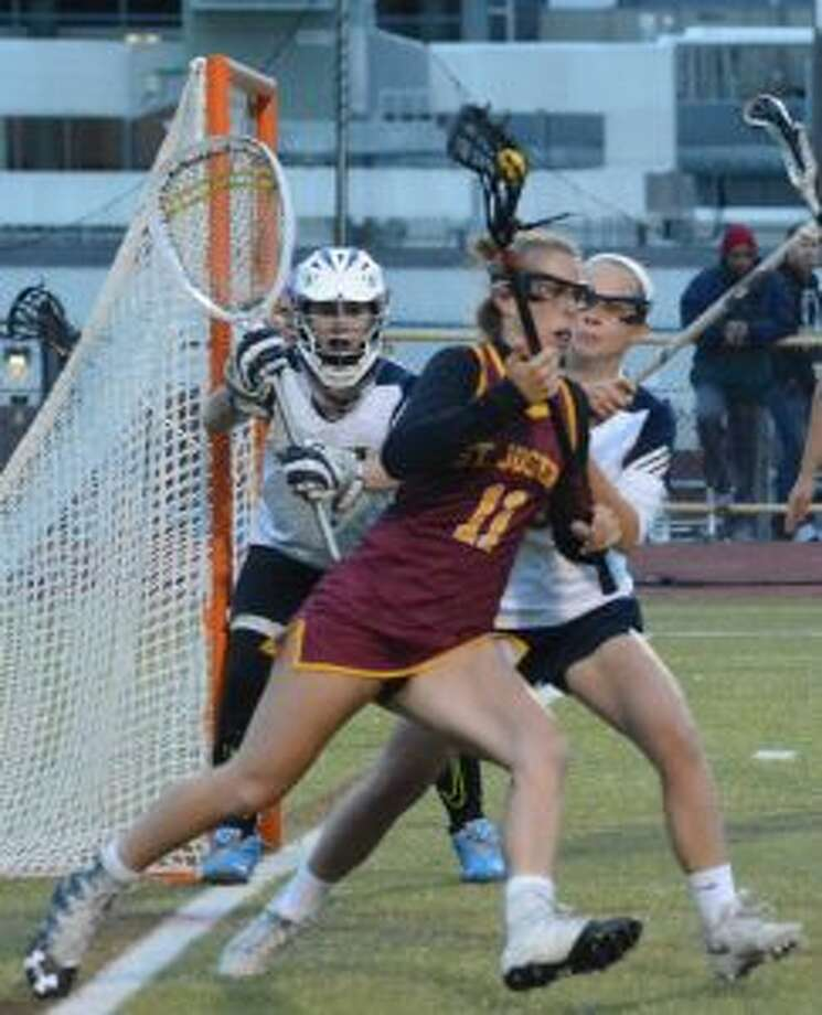 St. Joseph's Kate Condron scored five goals.
