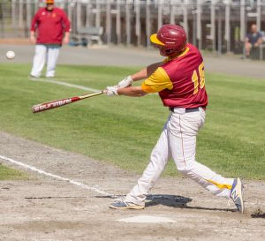 Jimmy Evans had an RBI double for the Cadets in the semifinals. — David G. Whitham photo