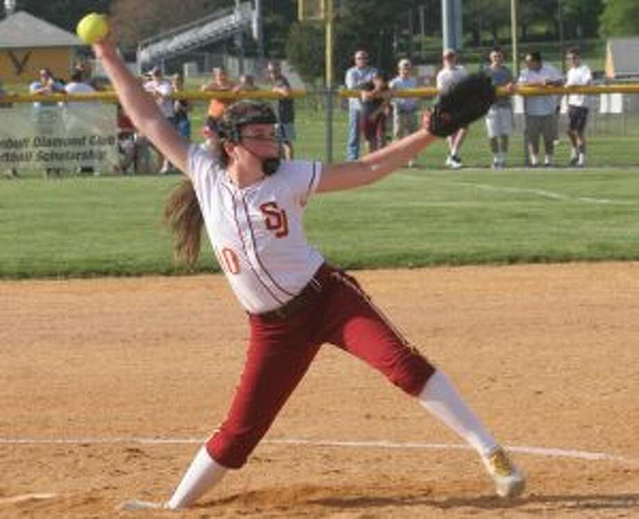 St. Joseph's Payton Doiron pitched a four-hit shutout. — Bill Bloxsom photos