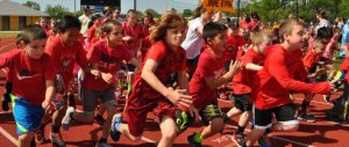 Jane Ryan School students off and running.