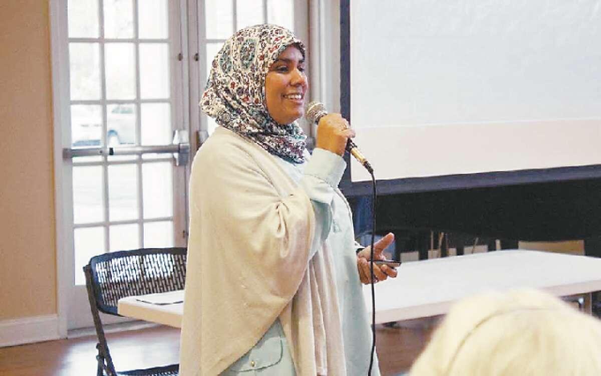 Aida Mansoor will host a talk, Understanding Islam, Sunday at the Trumbull Congregational Church.