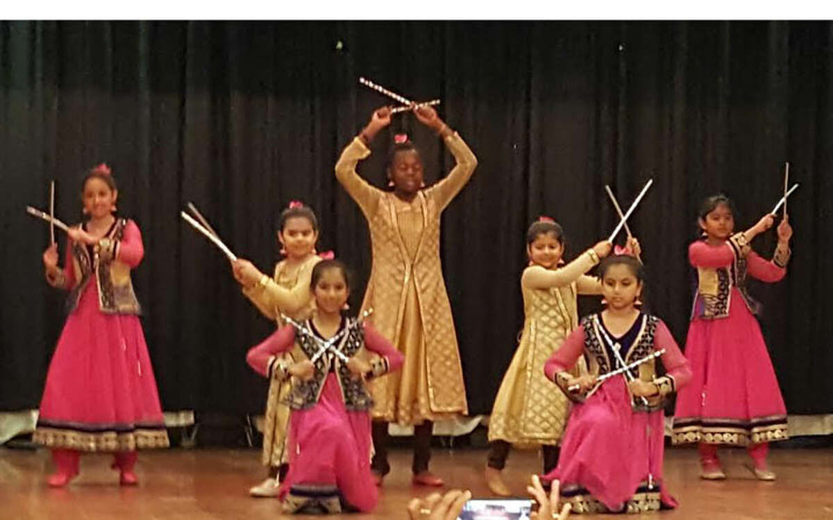 Middlebrook students performed 3 classical Indian dances