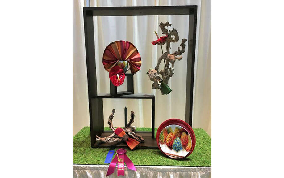 Marilyn Burkhart's Off the Beaten Path, won a first place and a Table Artistry Award.