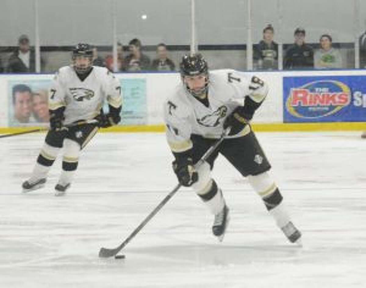 Trumbull's Will O'Brien had the decisive goal. - Andy Hutchison photos