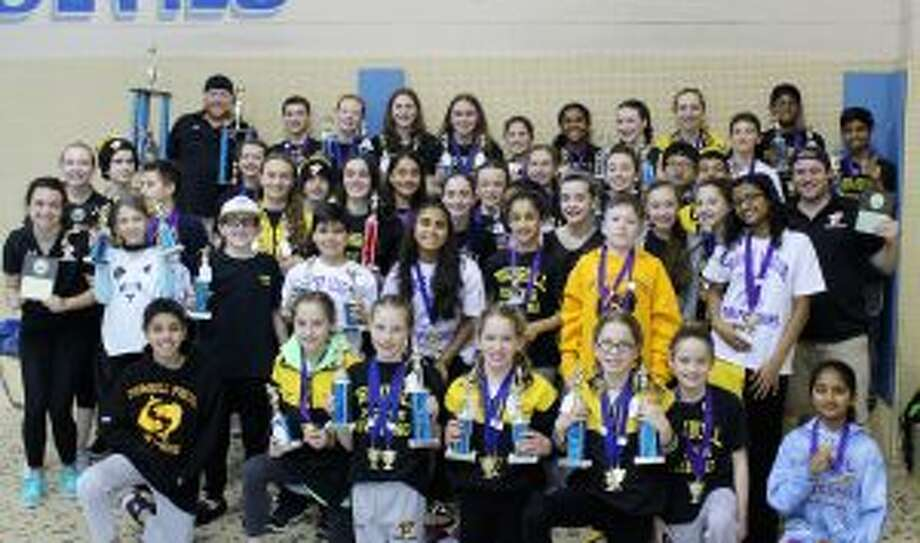 The Pisces were second at the Connecticut Yankee Swim League finals.