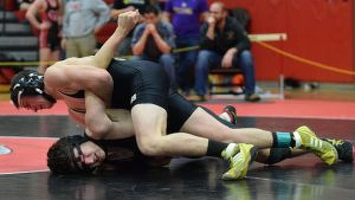 Adam Giammattei took second at FCIACS in the 138-pound weight class. - Dee Sollenberger photo