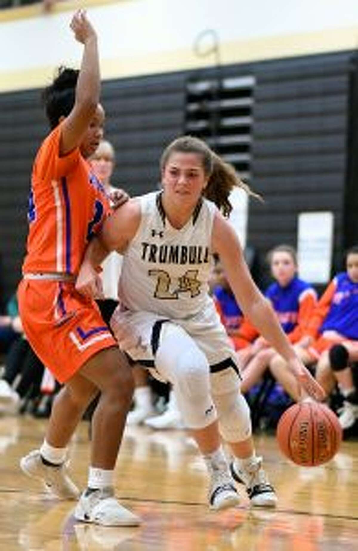 Cassi Barbato scored 16 points and was a mainstay on defense.