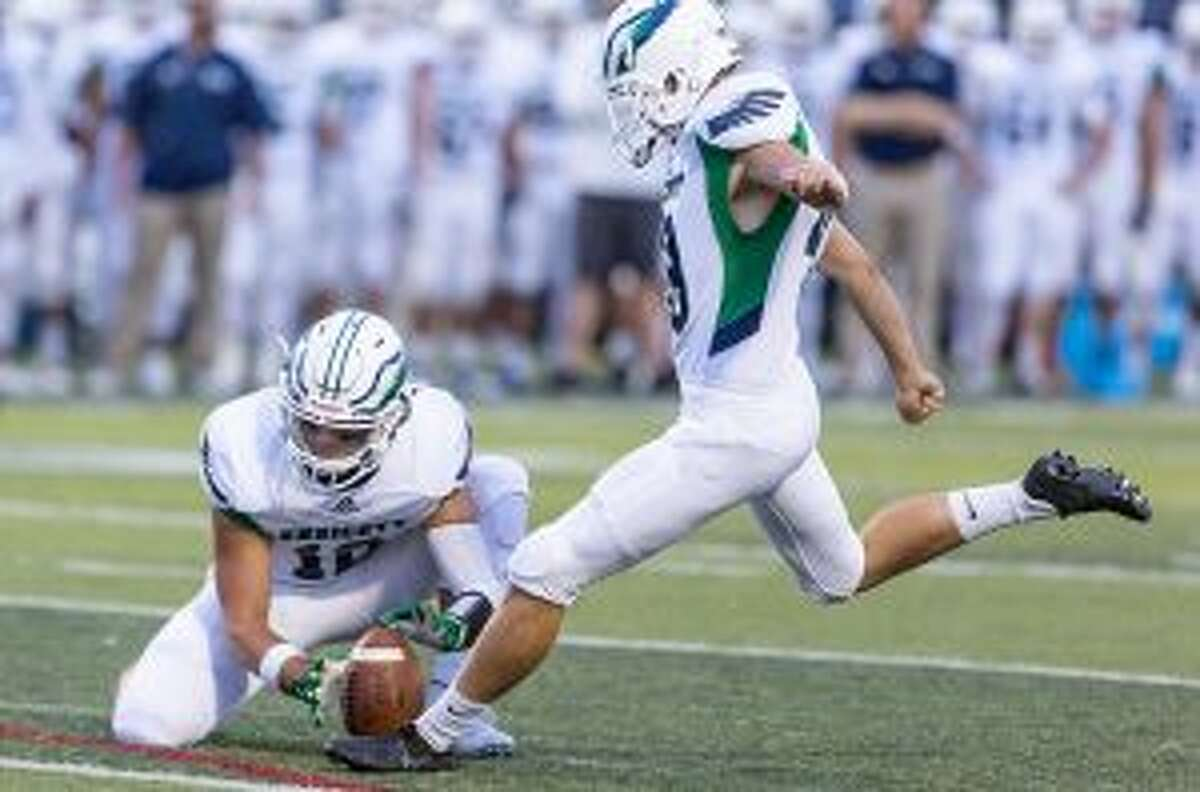 Nick DiCairano is Endicott College's first player selected to the Associated Press Division III All-America team. - Nick Grace photo