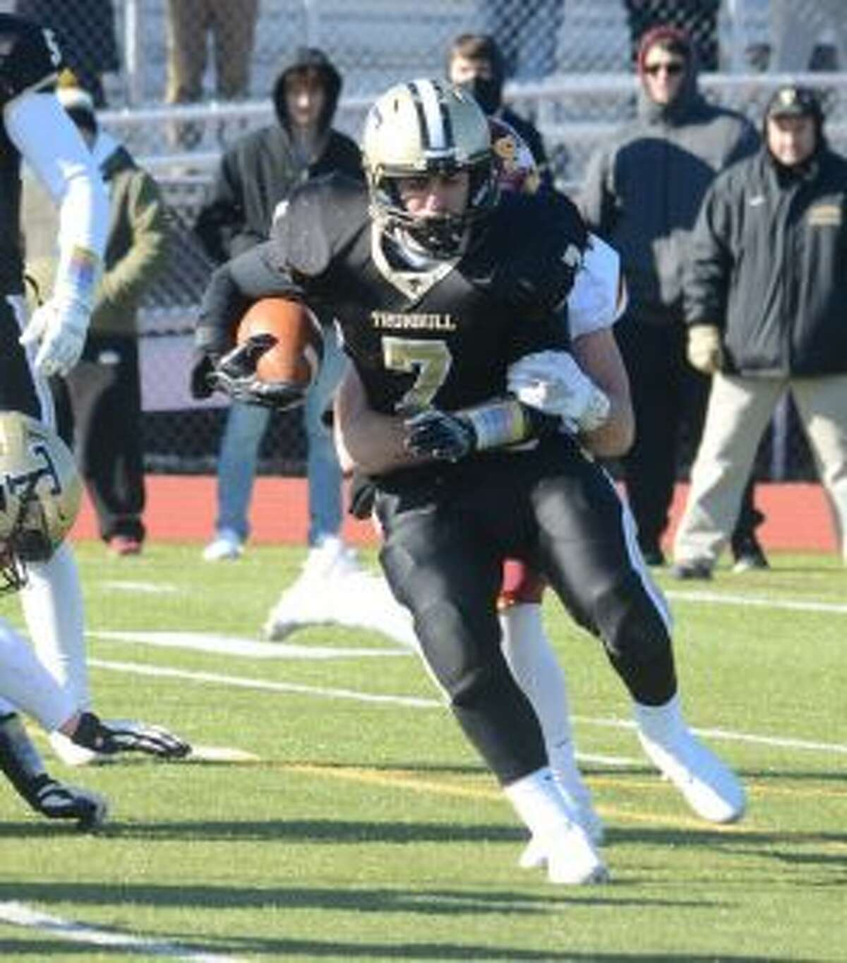 Adam Told was named Trumbull's Game MVP.