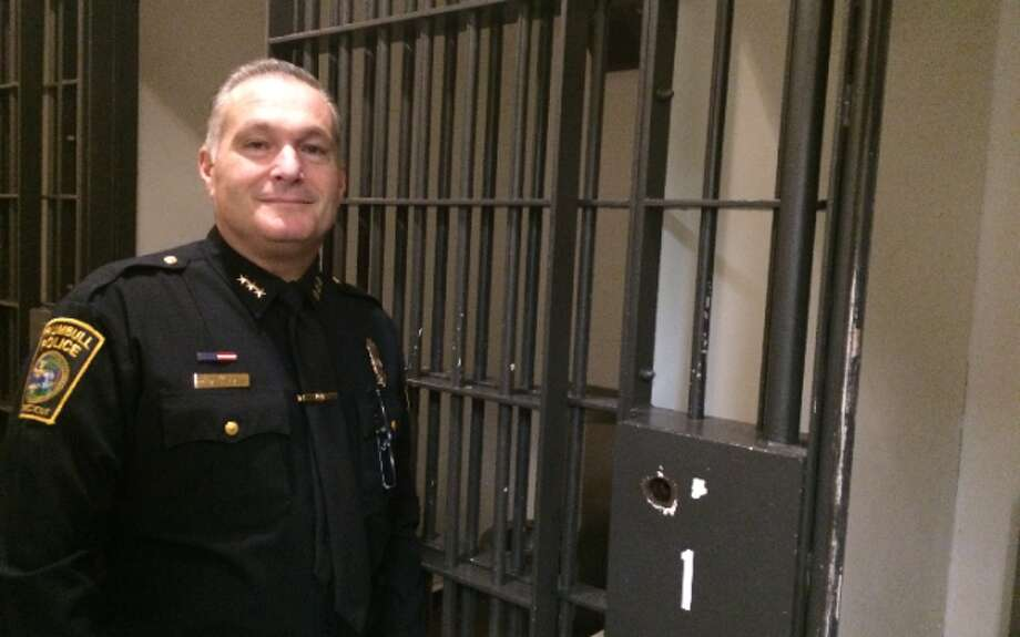Police Chief Michael Lombardo said the new solid cell doors in the holding area would be safer for officers than the current bars.
