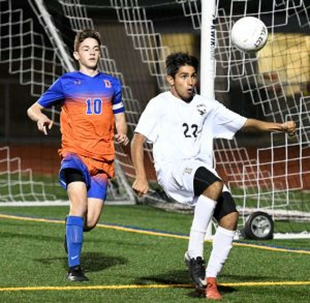 Andrew Restrepo had the assist on the game-winning goal.