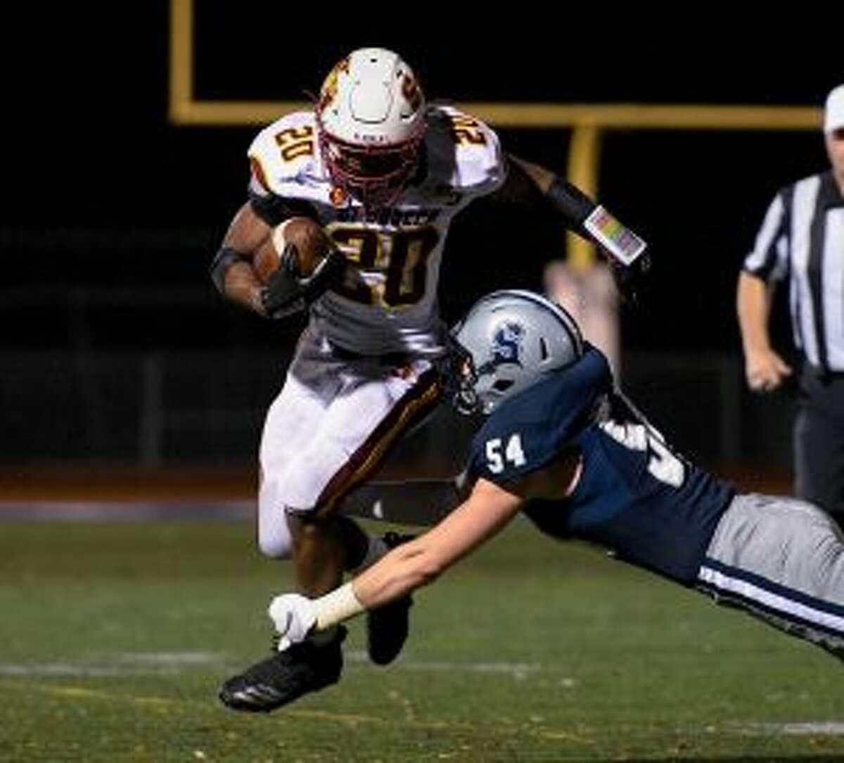 Jaden Shirden ran for 166 yards and a third-quarter touchdown. - David G. Whitham photos