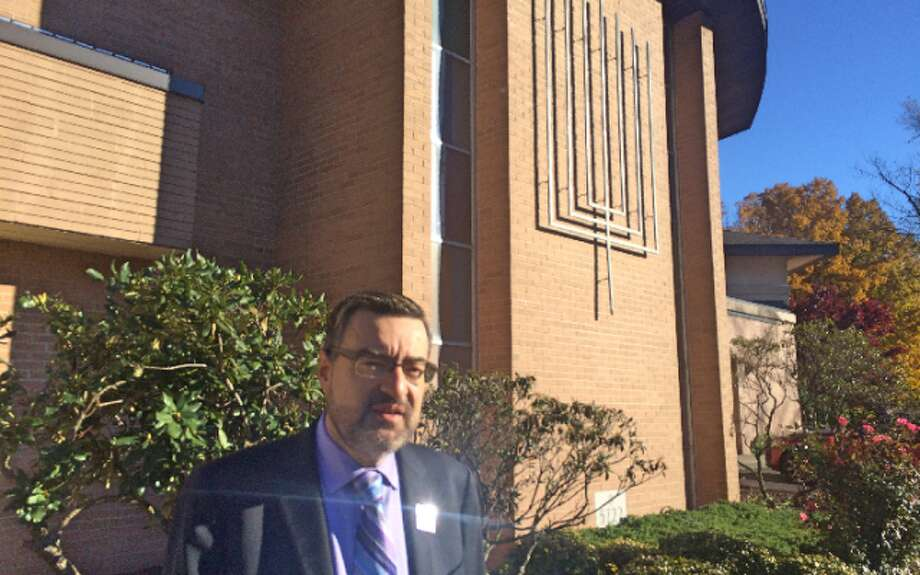 Rabbi Colin Brodie said the Congregation B'nai Torah has been encouraged by the support of the local community.