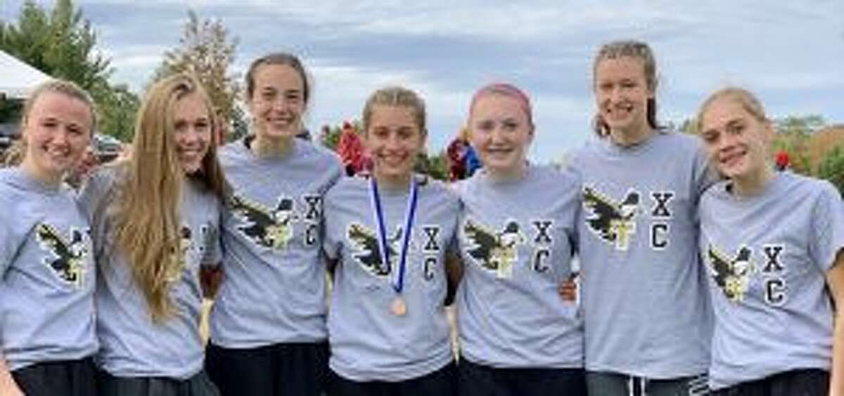 Trumbull earned a spot in next Friday's State Open meet for the second straight season. Leading the Eagles will be Maggie LoSchiavo, Kali Holden, Calyn Carbone, Alessandra Zaffina, Megan Becker, Sabrina Orazietti and Emily Alexandru.