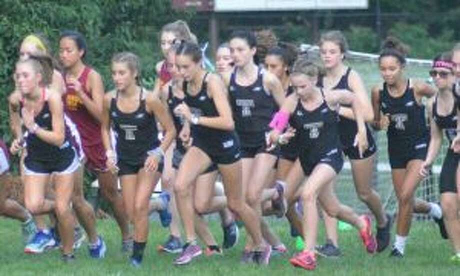 Trumbull High took four of the top six spots to sweep the quad meet.