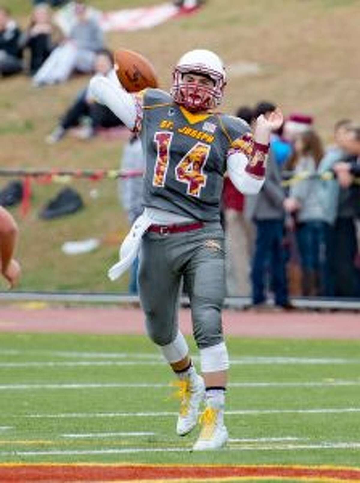 David Summers threw for a record 49 touchdowns as a junior. - David G. Whitham photo