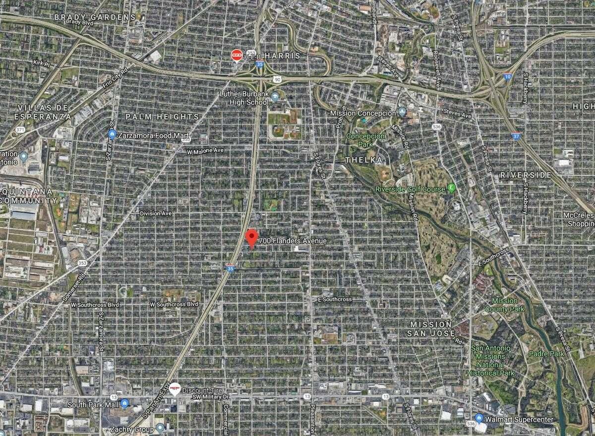 Two men were shot in the 700 block of Flanders Avenue on June 4, 2019.