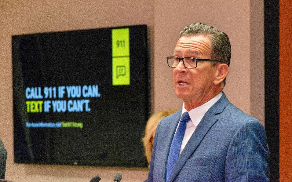Gov. Dannel P. Malloy announced the Text-to-911 capability last Thursday.