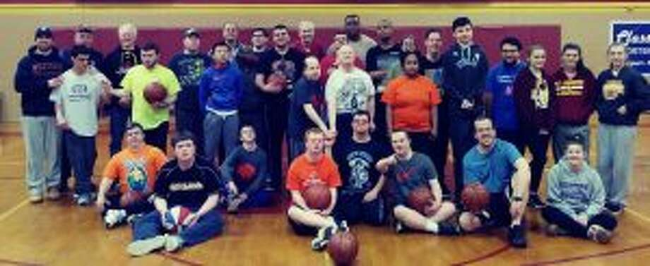 The athletes from Trumbull Special Olympics program have had great success in the state Special Olympics floor hockey and basketball tournaments.