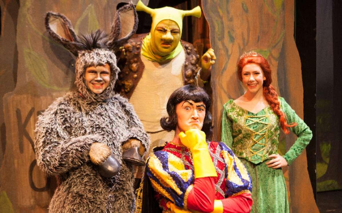 Shrek: The Musical opens tonight at Trumbull High School.