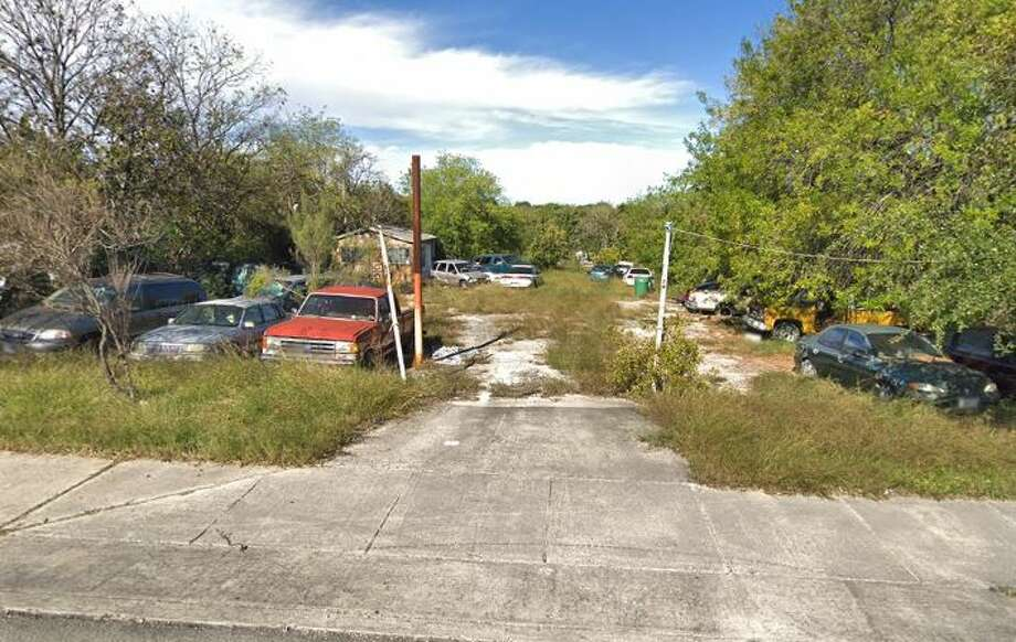 Work is under way to clean up a decades-old eyesore along Pat Booker Road in Universal City. Photo: Google Maps