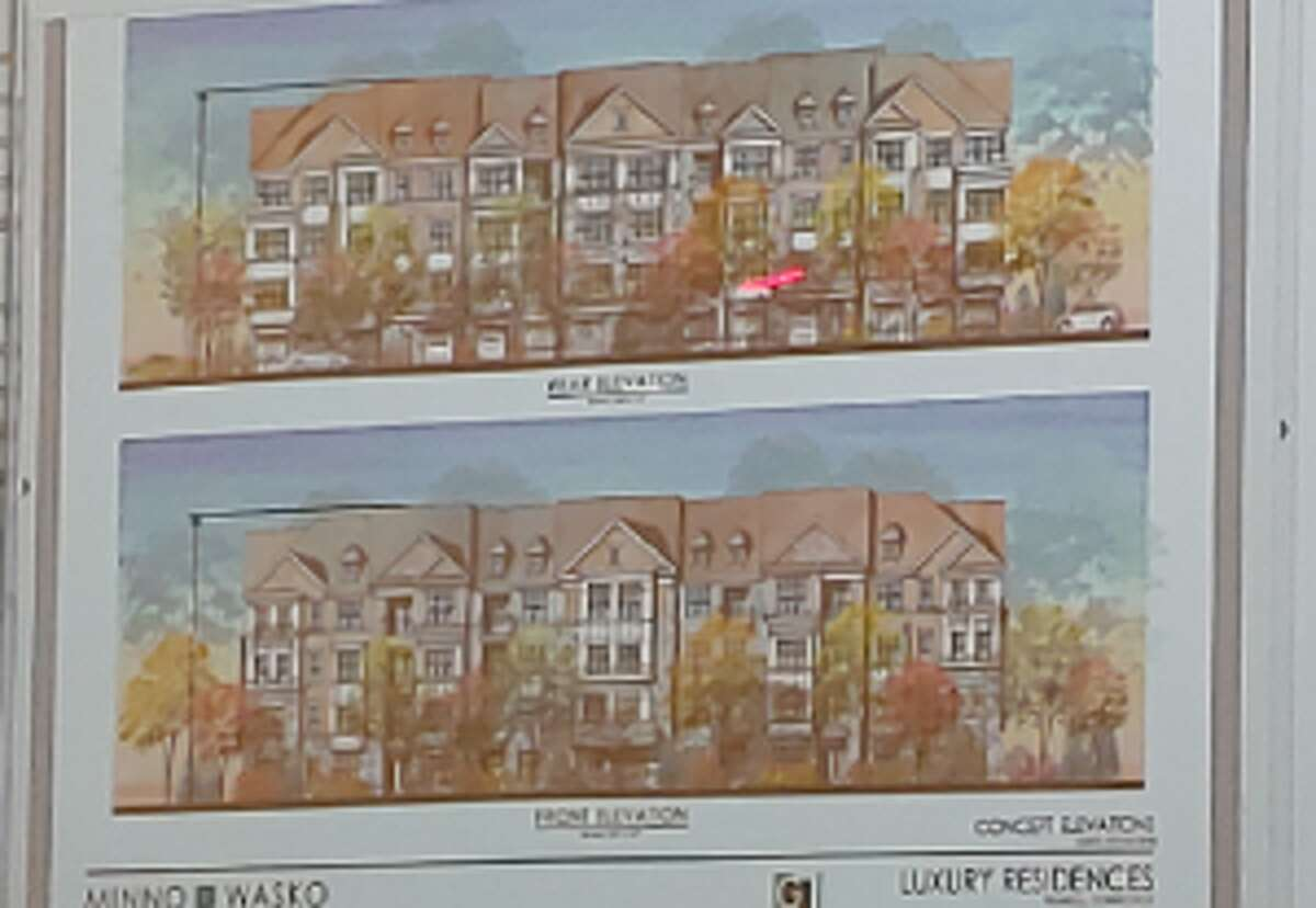 Westfield officials showed the Planning & Zoning Commission a series of slides of what the housing units could look like.