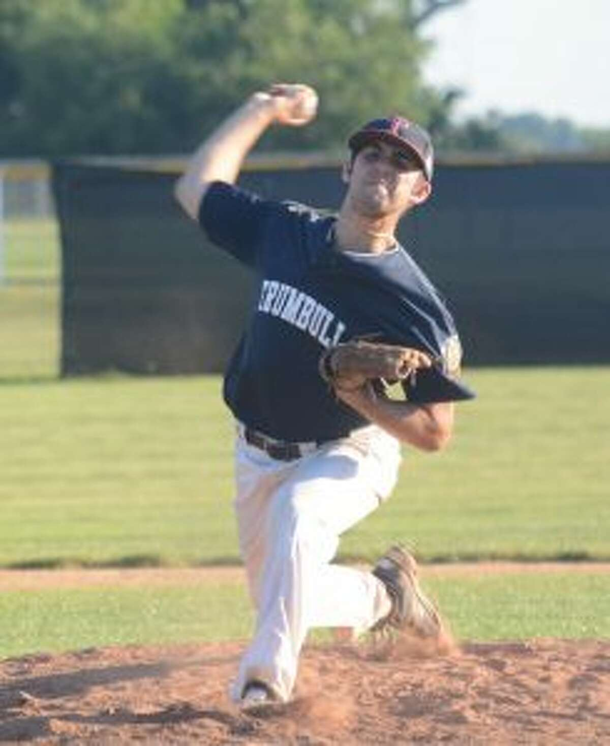 Jared Rosen blanked Fairfield, 11-0, on Monday, striking out five. - Andy Hutchison photos