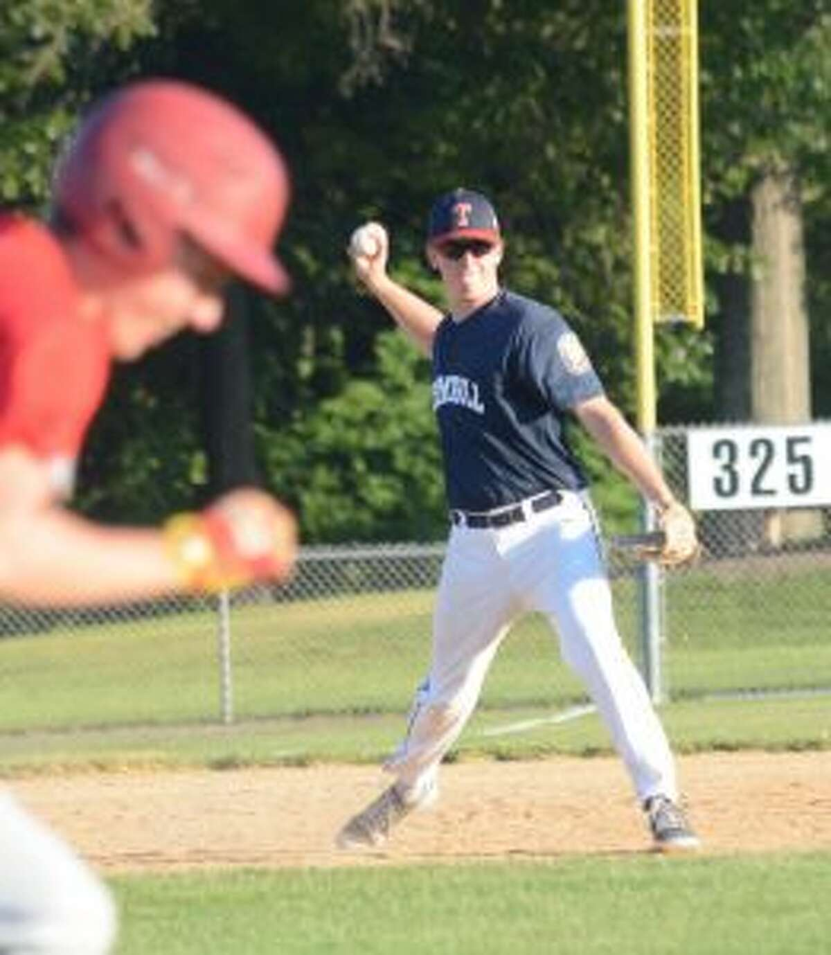 Ryan Vawter played a solid third base, walked three times, and scored a run.
