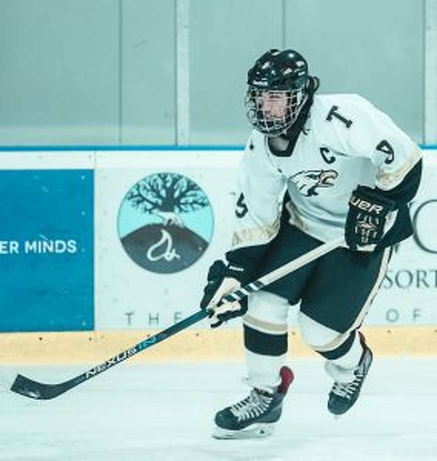 Eric McCabe will take his All-State credentials and play junior hockey for the Grey Highlands Hawks. — Athina Bellios photo