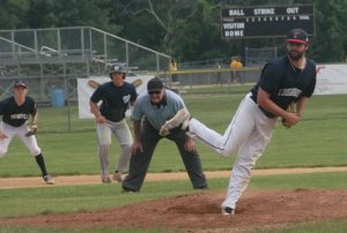 Andrew Lojko pitched six innings of one-run ball and didn't walk a batter. - Bill Bloxsom photos