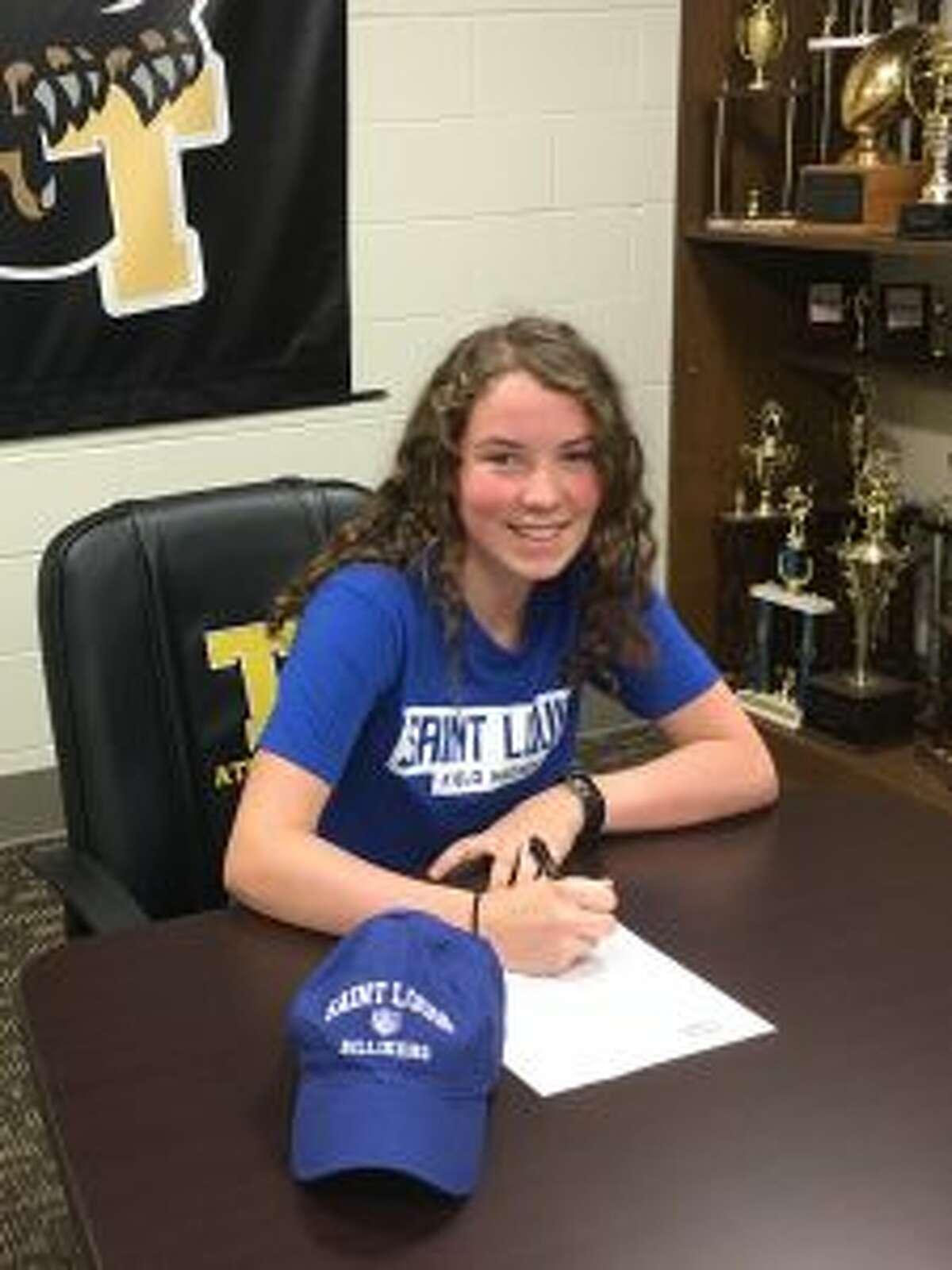 Kayleigh Fleming, an All-FCIAC midfielder, will play field hockey at St. Louis University.