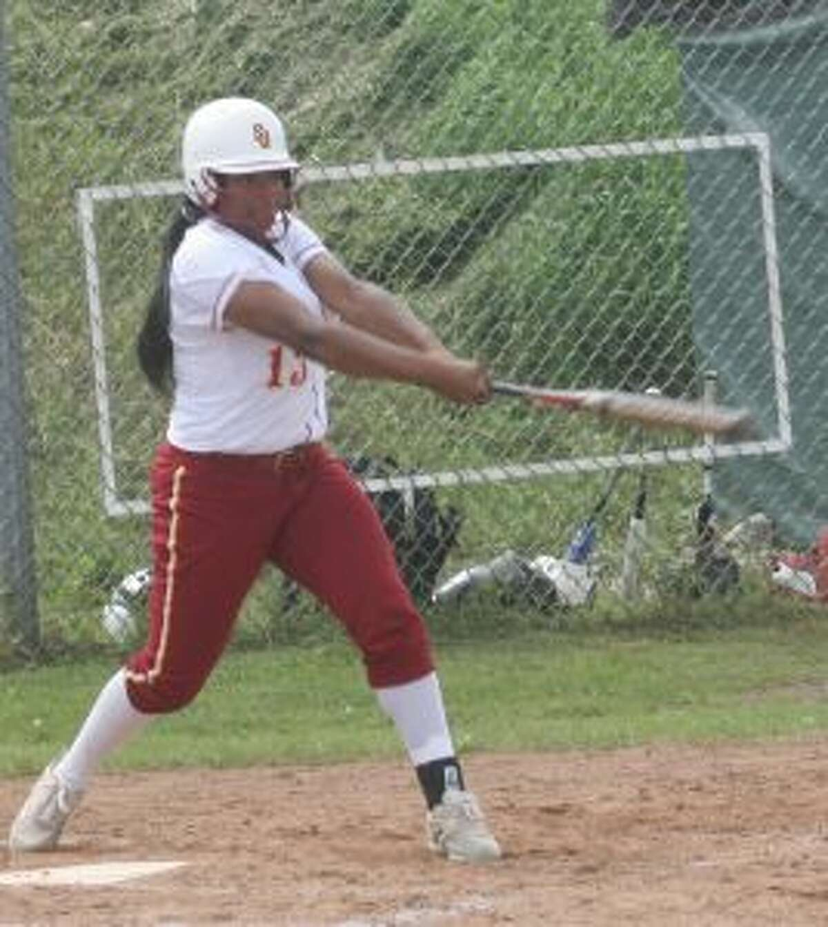 Paige Hunter had two hits and three RBIs.