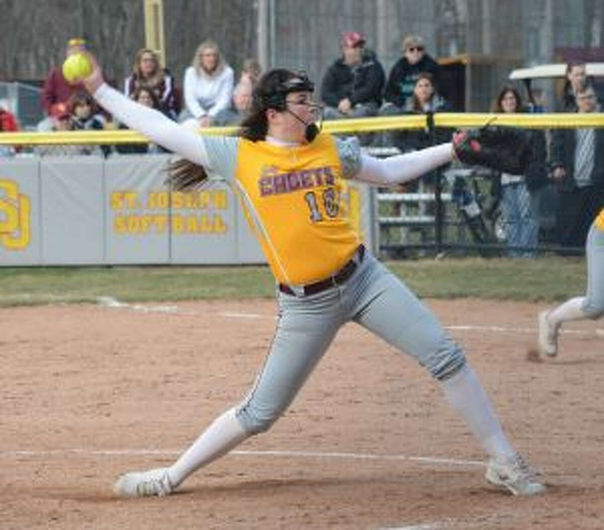 Payton Doiron tossed a one-hitter and struck out nine Stamford batters. - Andy Hutchison photo