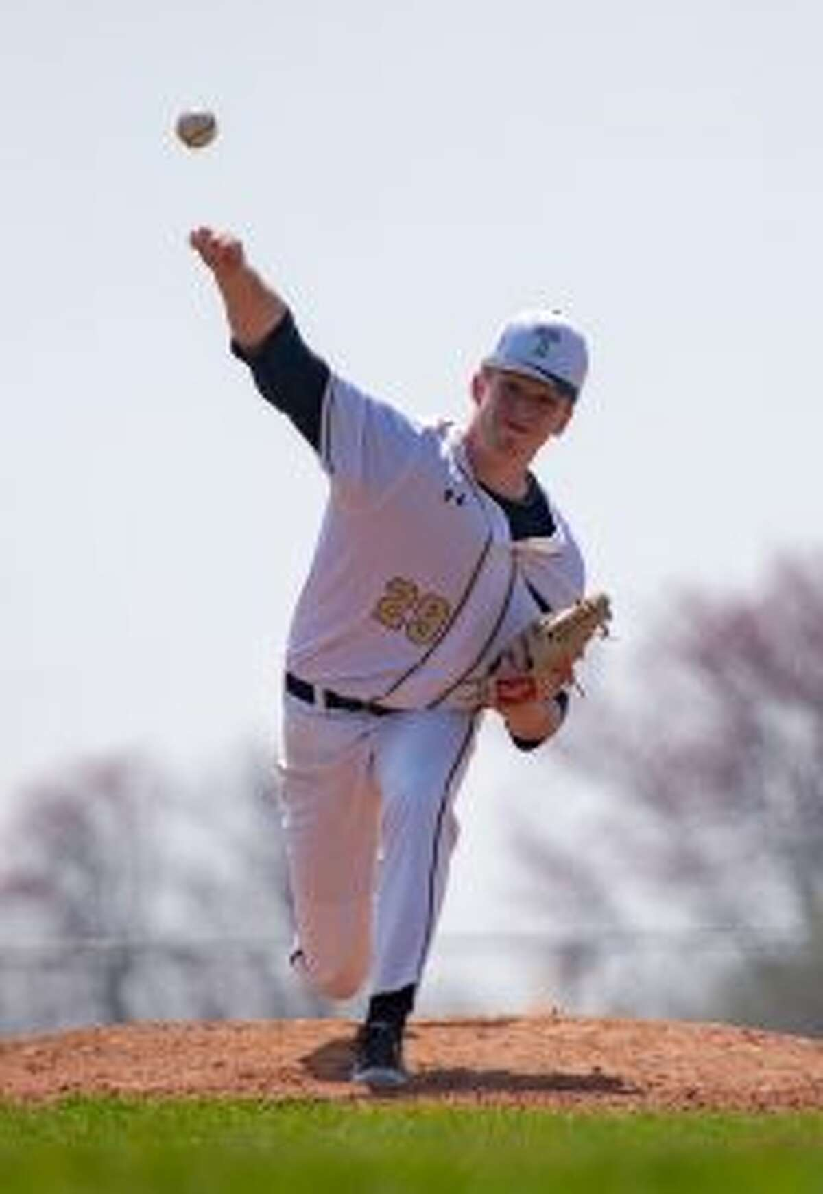 Ryan Vawter pitched five shut out innings. - David G. Whitham photo