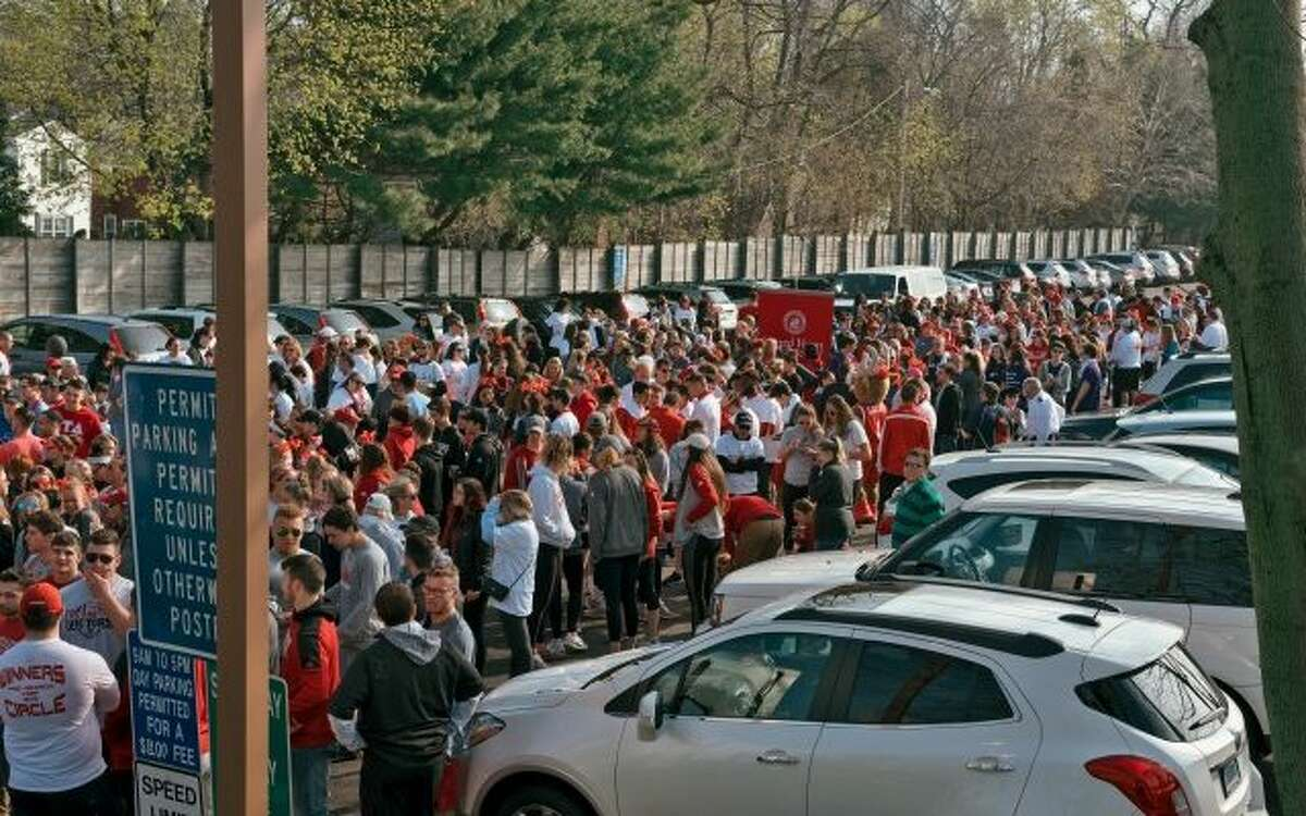 More than 1,300 people walked on Fairfield's Post Road last Saturday for CFJ's Walk a Mile in Her Shoes -Donovan Doughty for The Center for Family Justice.