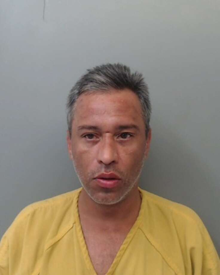 Marcos Mosqueda, 43, was charged with assault against an elderly in the 800 block of Park Street. Photo: Courtesy
