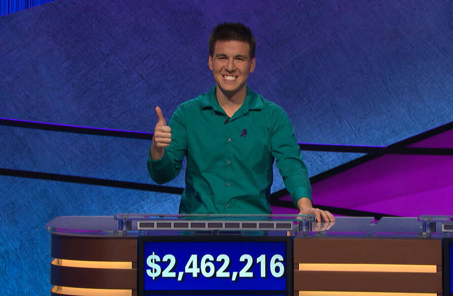 """James Holzhauer on his final episode of """"Jeopardy!"""" Photo: Jeopardy Productions, Inc. / Jeopardy Productions, Inc."""