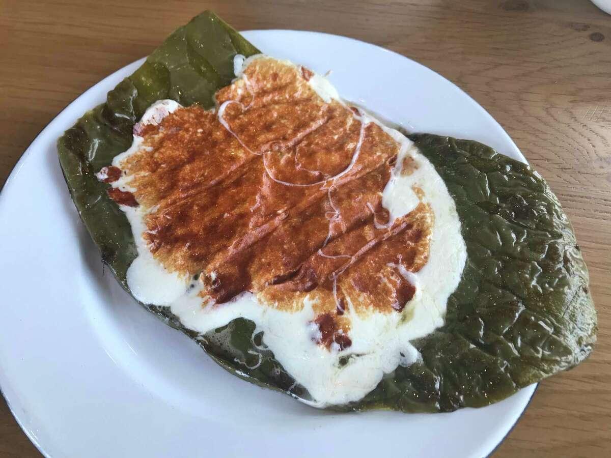 Nopales con queso at La Vibra Tacos