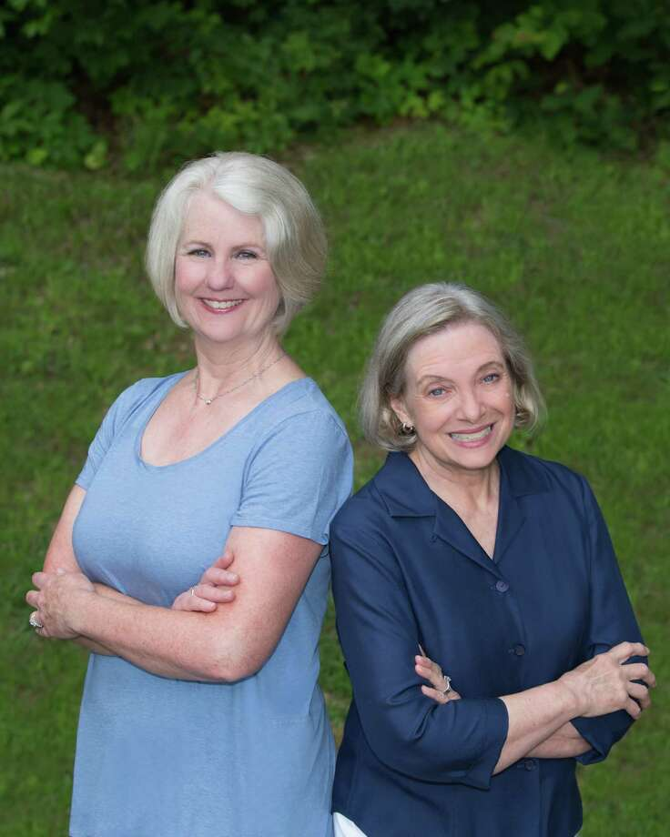 Pat Del Monaco, left, and Khris Hall are running for New Fairfield first selectman and selectman, respectively. Photo: Contributed Photo / Hearst Connecticut Media / The News-Times Contributed