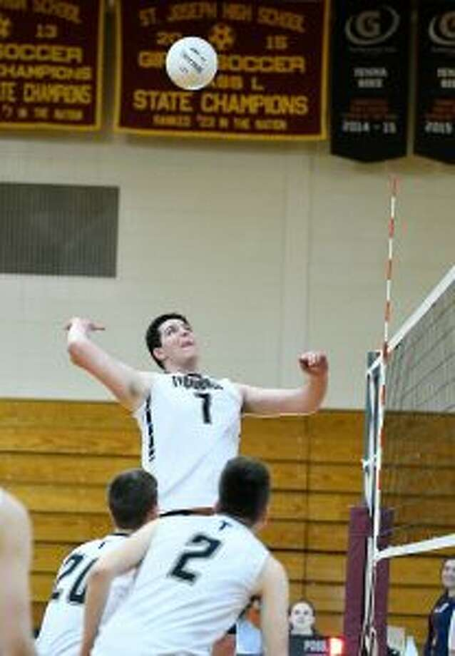 Trumbull's Ron Rufino is a top hitter. — David G. Whitham photo