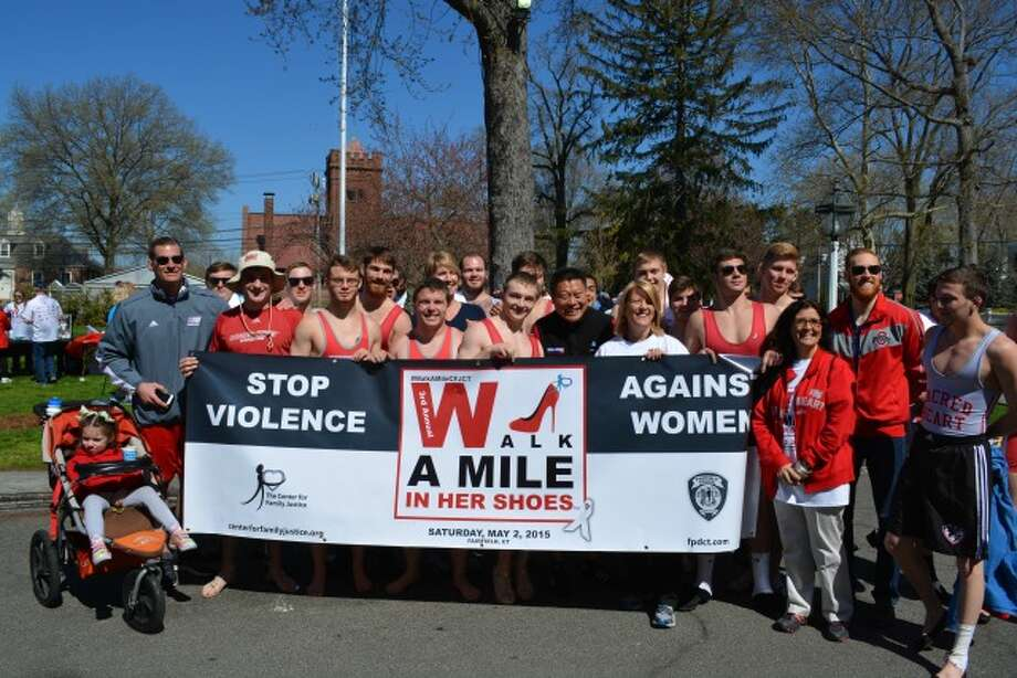 Registration is open for the annual Walk a Mile in her Shoes in Fairfield.
