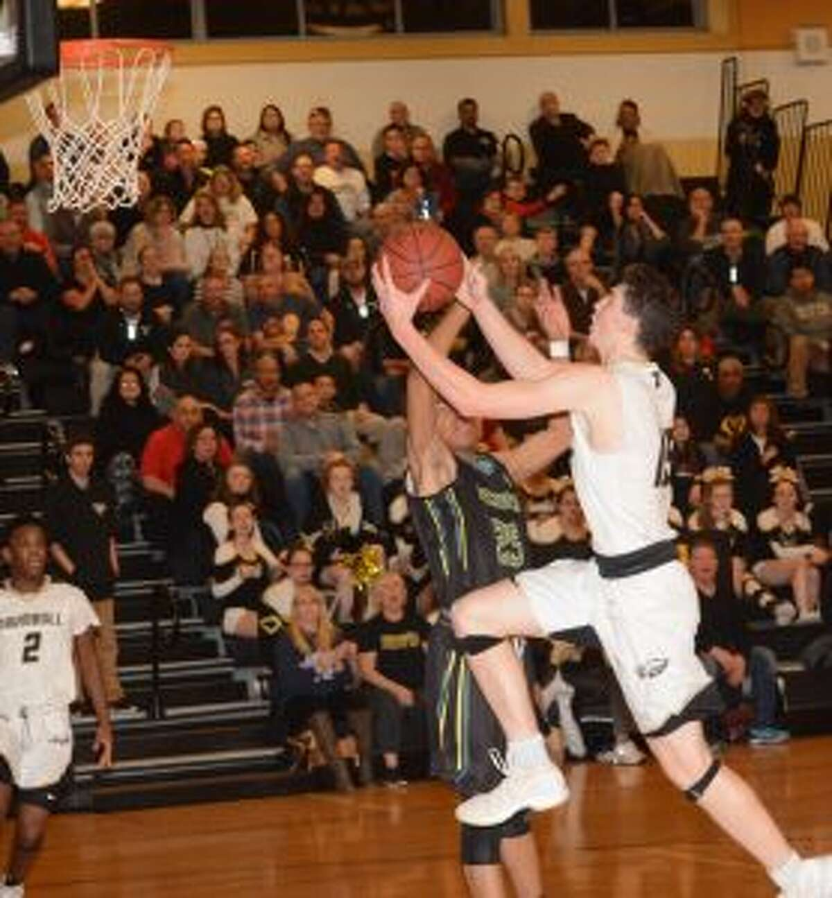 Chris Brown scored 20 points against Weaver. - Andy Hutchison photos