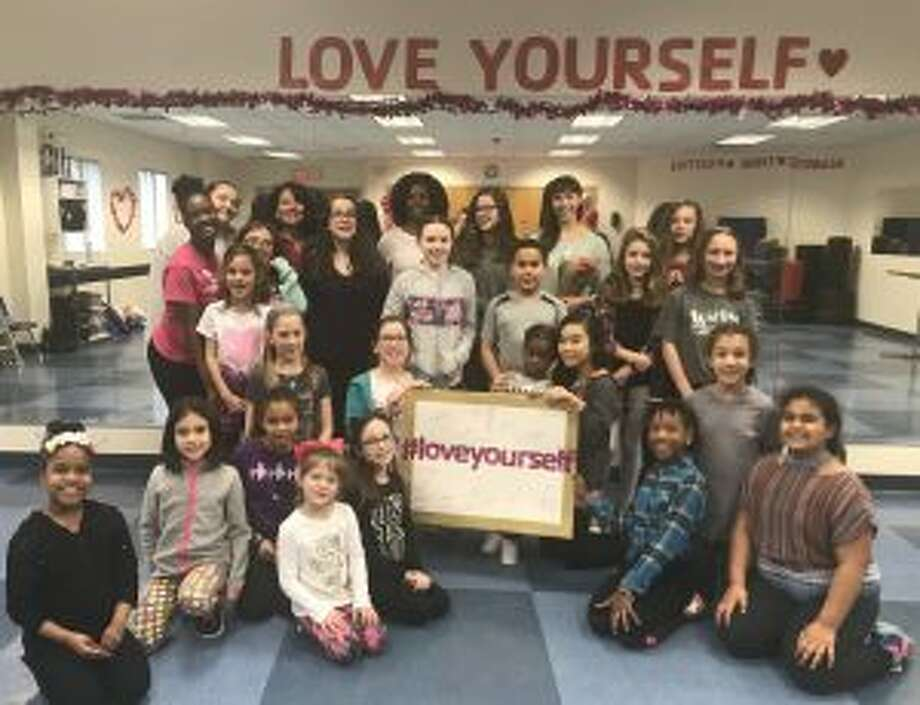 Pictured (bottom row to top row) at the Love Yourself Seminar 2018 are Leila Rackley, Kristen Ortiz, Katie Stanley, Haley Mitchell, Kendall Walsh, Nia Rackley, Morgan Picard, Jannah Ahmed, Gwenyth Giugno, Cecilia Laspina, Michai Reynolds, Maisie Speer, Anisah Richardson, Kayla Meyer, Jenna Schlatter, Sophia Laspina, Ellie Lennon, Andrew Stanley, Ava Delvalle, Sara Kocinsky, Katie Salisbury, Joanne Orenstein, Maxanie Byron, Jordyn Harris, Lauren Russo and Eden Shipley.