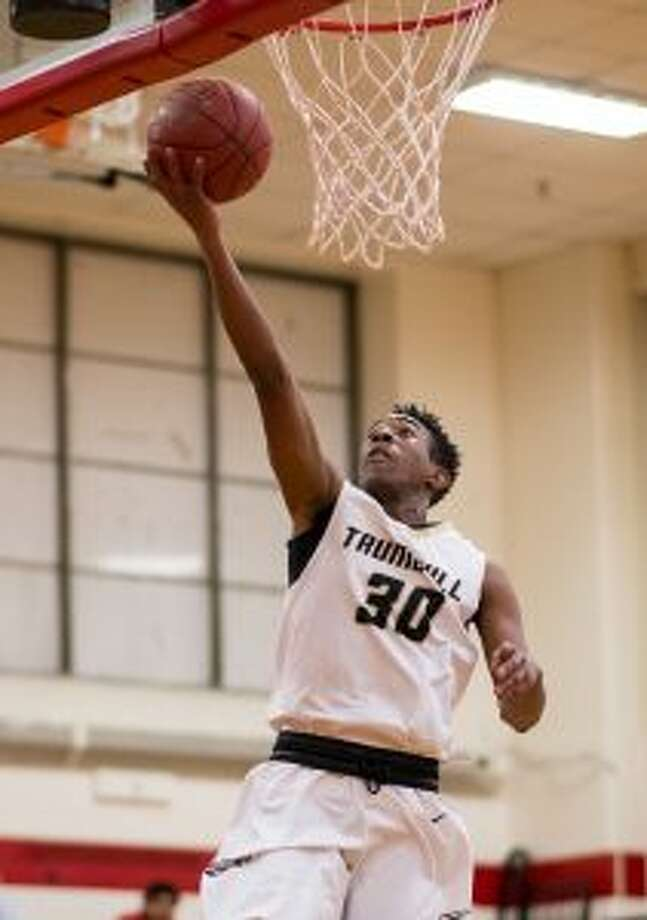 Timmond Williams scored 27 points for Trumbull in the semifinals.