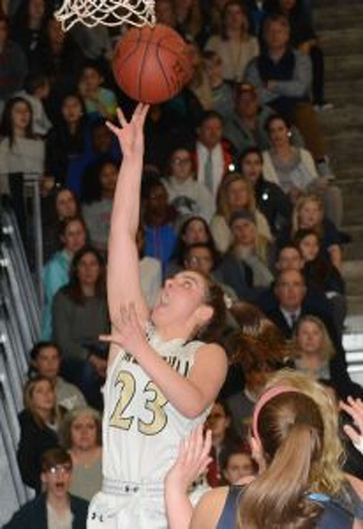 Julie Keckler was named MVP after Trumbull High defeated Wilton for the FCIAC title. - Andy Hutchison photos