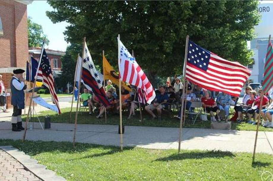 The Gen. George Rogers Clark Chapter of the Sons of the American Revolution will share a flag presentation at 11 a.m. Saturday, June 8, 2019, at the SIUE Dental School. Photo: For The Intelligencer
